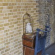 Постер, плакат: The Harry Potter Platform 9 and Three Quarters at Kings Cross Station