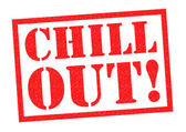 CHILL OUT! — Stock Photo