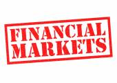 FINANCIAL MARKETS — Stock Photo