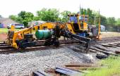 Railroad Track Repair — Stock Photo