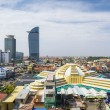 Central phnom penh in cambodia — Stock Photo #56164739