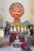 Chinese shrine on street of taipa in macau — Foto de Stock