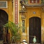 Chinese temple in hanoi vietnam — Stock Photo #68411017