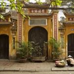 Chinese temple in hanoi vietnam — Stock Photo #68411019