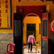 Chinese temple in ho chi minh vietnam — Stock Photo #68411107