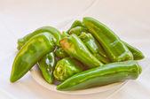 Pimientos verdes — Foto de Stock