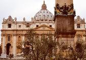 San pietro, řím — Stock fotografie