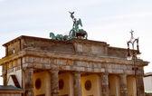 Brandenburger tor, berlín — Stock fotografie