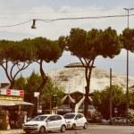 Постер, плакат: Retro look Palazzetto dello Sport in Rome