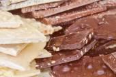 Chocolate food — Stock Photo