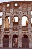 Retro look Colosseum Rome — Stock Photo