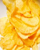 Retro-look-Chips — Stockfoto