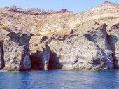レトロな外観のサントリーニ島ギリシャ — ストック写真
