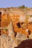 Retro look Temple of Venus in Rome — Stock Photo