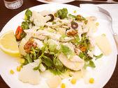 Retro görünüm Tavuk salatası — Stok fotoğraf
