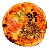 Retro look Pizza — Stock Photo