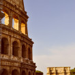 Retro look Colosseum Rome — Stock Photo #54870909
