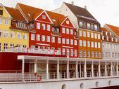 Retro look Copenhagen Denmark — Stock Photo
