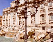 Trevi Fountain, Rome — Stock Photo