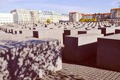 Holocaust memorial, Berlin — Stock Photo