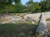 Omisalj ruïnes — Stockfoto