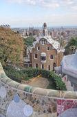 バルセロナのグエル公園 — ストック写真