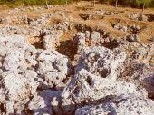 Retro look Torre den Galmes in Minorca — Stock Photo