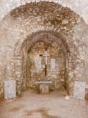 Retro look Punat Basilica — Стоковое фото