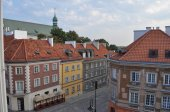 Mostowa、ワルシャワの Freta 通り — ストック写真