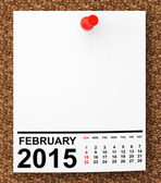 Calendar January 2015 — Stock Photo