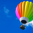 Colorful Hot Air Balloon in Flight — Stock Photo #74023341