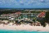 Caribbean coastline — Stock Photo
