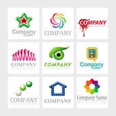 Wektor logo projektowanie elementów — Wektor stockowy