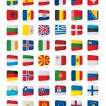 European flags — Stock Vector #67170175