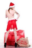 Sexy Santa Claus — Stock Photo