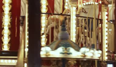 French carousel — Stock Video