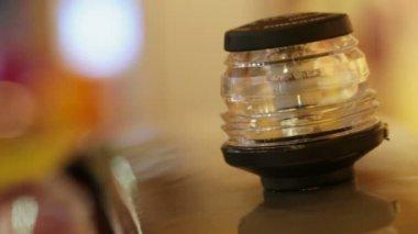 Flashing lamp — Stock Video