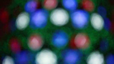 Christmas bokeh — Stock Video