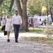 Couple on walk — Stock Video #64158457