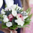 Wedding bouquet — Stock Video #64894659