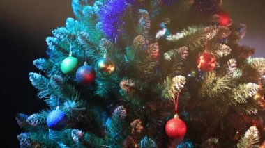 Xmas tree — Video Stock