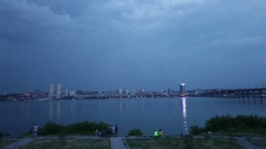Storm the Dnieper — Stock Video