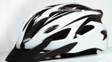 Bicycle helmet — Stock Video