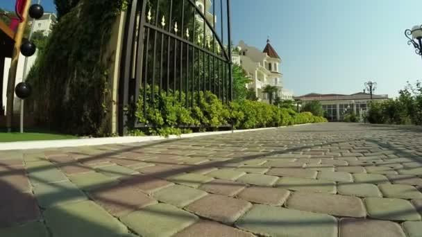 Relax Hotel de mar — Vídeo de stock