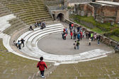Roman theater restored — Stock Photo