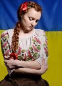 Украинские женщины разочарован — Стоковое фото