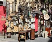 Sicilian street trading — Stock Photo
