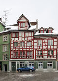 Half-timbered houses — Stock Photo