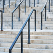Stone stairs with rails — Stock Photo #57270893