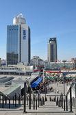 NSC Olimpiyskiy in the Ukraine capital — Stock Photo